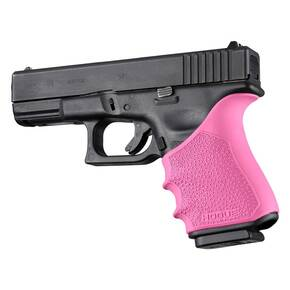 Hogue HandAll Beavertail Grip Sleeve Glock 19, 23, 32, 38 Gen 3-4  Pink