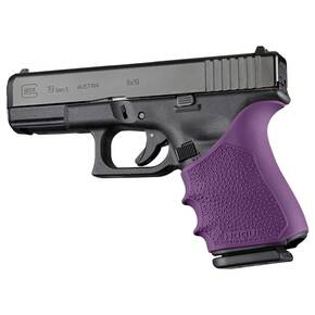 Hogue HandAll Beavertail Grip Sleeve Glock 19, 23, 32, 38 Gen 1-2-5 Purple