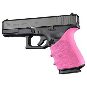 Hogue HandAll Beavertail Grip Sleeve Glock 19, 23, 32, 38 Gen 1-2-5 Pink