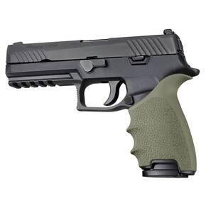 Hogue HandAll Beavertail Grip Sleeve Sig Sauer P320 OD Green