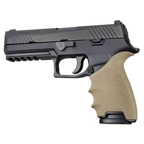 Hogue HandAll Beavertail Grip Sleeve Sig Sauer P320 Flat Dark Earth
