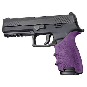 Houge HandAll Beavertail Grip Sleeve Sig Sauer P320 Purple