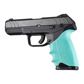 Hogue HandAll Beavertail Grip Sleeve Ruger Security 9 Aqua