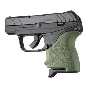 Hogue HandAll Beavertail Grip Sleeve for Ruger LCP II-OD Green