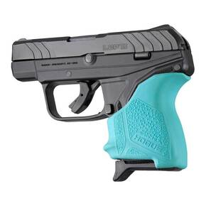 Hogue HandAll Beavertail Grip Sleeve Ruger LCP II-Aqua