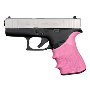 Hogue HandAll Beavertail Grip Sleeve Glock 43X, 48 - Pink