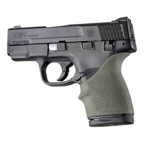 Hogue HandALL Beavertail Grip Sleeve S&W M&P Shield 45, Kahr P9/P40/CW9/CW40- Green