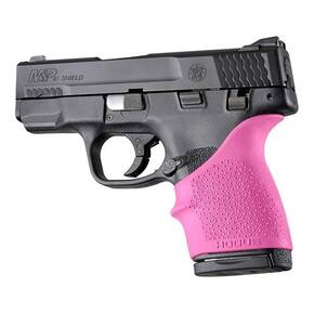 Hogue HandAll Beavertail Grip Sleeve For S&W M&P Shield 45, Kahr P9/P40/CW9/CW40-Pink