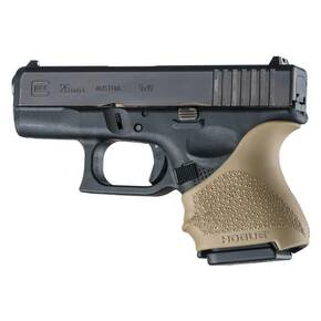 Hogue HandAll Beavertail Grip Sleeve Glock 26/27-Flat Dark Earth