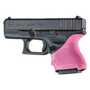 Hogue HandAll Beavertail Grip Sleeve Glock 26/27-Pink