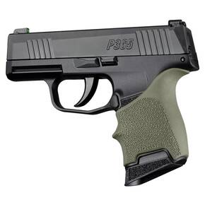 Hogue HandAll Beavertail Grip Sleeve Sig Sauer P365 OD Green