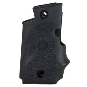 Hogue Ambi Safety Rubber Grip with Finger Grooves for SIG Sauer P238 Black