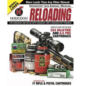 Hodgdon Annual Reloading Manual 2019