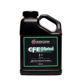 Hodgdon Powder CFE Pistol Powder- 8 lbs