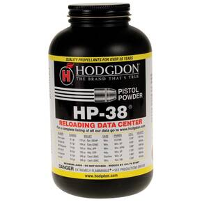Hodgdon HP-38 Spherical Handgun Powder 8 lbs