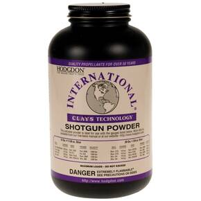Hodgdon International Clays Hodgdon Clays Shotshell & Handgun Powder 4 lbs