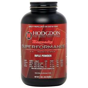 Hodgdon Superformance Spherical Rifle Powder 1 lbs