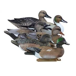 Higdon Outdoors Battleship Puddle Pack with 2/ct Pintails 2/ct Gadwalls 2/ct Widgeons