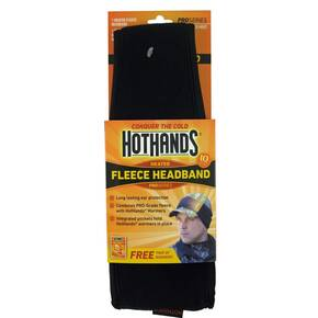 HeatMax HotHands Heated Fleece Headband - Mossy Oak/Blaze Orange OSFM
