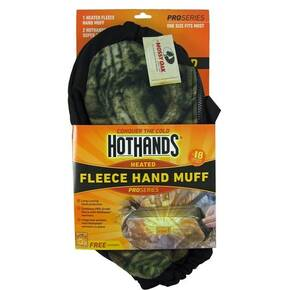 HeatMax HotHands Fleece 3-in-1 Hand Muff