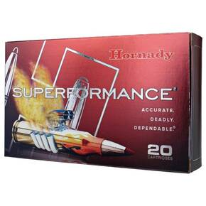 Hornady Superformance Rifle Ammunition 6mm Creedmoor 90 gr GMX SPF3325 fps 20/ct