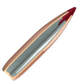 "Hornady ELD Match Bullets with Heat Shield .22 cal .224"" 88 gr ELD-M 100/Bag"