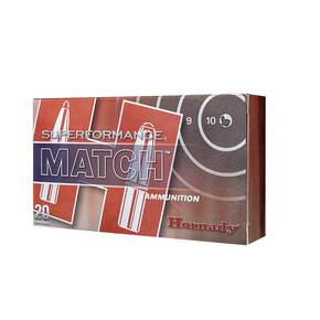 Hornady Superformance Match Rifle Ammunition 5.56 NATO 73 gr  ELD Match 2910 fps 20rd