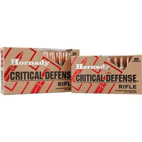 Hornady Critical Defense Rifle Ammunition .223 Rem 55 gr FTX 20/ct