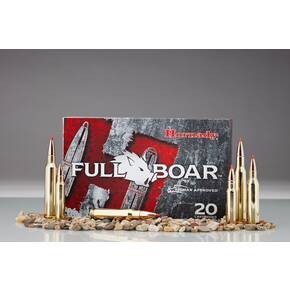 Hornady Full Boar Rifle Ammunition .308 Win. 165 gr GMX 2610 fps 20/box