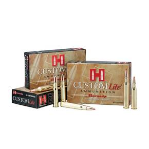 Hornady Custom Lite Rifle Ammunition 7mm-08 Rem 120 gr SST Custom Lite 20/Box