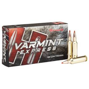 Hornady Varmint Express Rifle Ammunition 6mm Creedmoor 87 gr V-MAX 3210 fps 20/ct