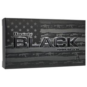 Hornady Black Rifle Ammunition 6mm Creedmoor 105 gr BTHP 2960 fps 20/ct