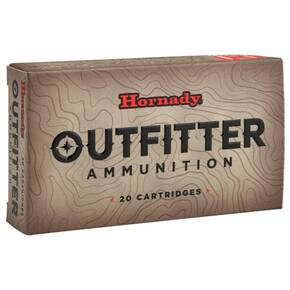 Hornady Outfitter Rifle Ammunition .375 Ruger 250 gr GMX 2800 fps 20/ct