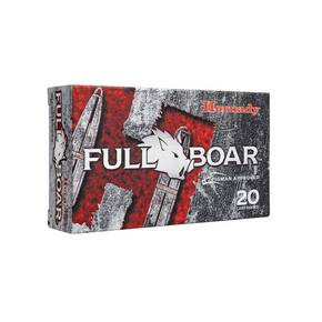 Hornady Full Boar Rifle Ammunition .300 AAC Blackout 110 gr GMX 20/ct