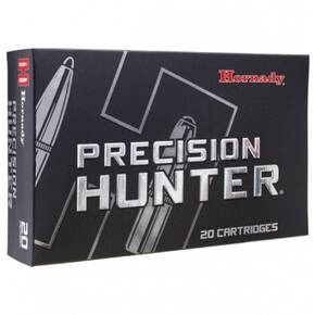 Hornady Precision Hunter Rifle Ammunition .300 Win Mag 178 gr ELD-X 2960 fps 20/ct