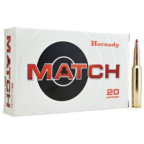 Hornady Match Rifle Ammunition .300 PRC 225 gr ELD MATCH 2810 fps 20/ct