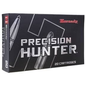 Hornady Precision Hunter Rifle Ammunition 28 Nosler 162gr  ELD-X 3175 fps 20/ct