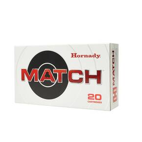 Hornady Match Rifle ammunition .300 Win Mag 195 gr ELD Match 2930 fps 20/ct