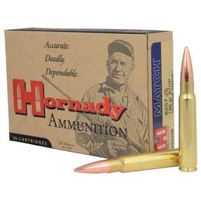 Hornady Vintage Match Rifle Ammunition 8x57mm 196 gr BTHP 2500 fps - 20/box