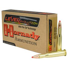 Hornady Leverevolution Rifle Ammunition .25-35 Win 110 gr FTX 2425 fps 20/ct