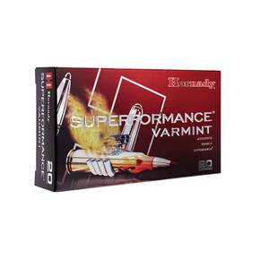 Hornady Superformance Rifle Ammunition .17 Hornet 20 gr V-MAX 3650 fps - 25/box