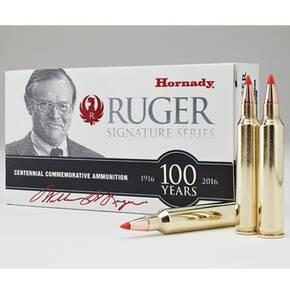 Hornady William B. Ruger Commemorative Rifle Ammunition .204 Ruger 32gr V-Max SPF 20/ct