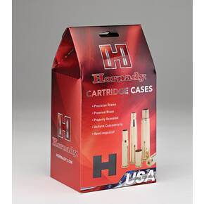 Hornady Unprimed Brass Handgun Cartridge Cases 9mm Luger 200/ct
