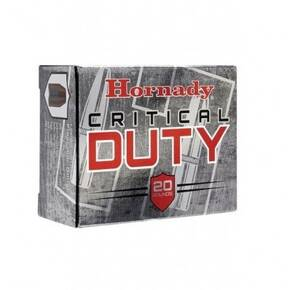 Hornady Critical Duty Handgun Ammunition 9mm Luger (+P) 124 gr Flexlock 25rd