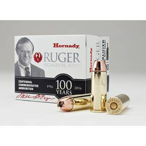 Hornady William B. Ruger Commemorative Rifle Ammunition .480 Ruger 325gr XTP Mag 20/ct