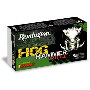 Remington Hog Hammer Rifle Ammunition 6.5 Creedmoor 120gr Triple Shock X 20/ct