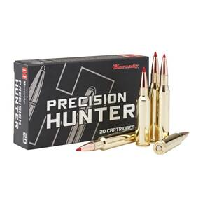 Hornady Precision Hunter Rifle Ammunition 7mm-08 Rem 150 gr ELD-X 2770 fps 20/ct