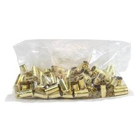 Hornady Unprimed Brass Handgun Cartridge Cases 9mm Luger 100/Bag