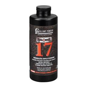Alliant Reloader 17 Rifle Powder 1 lbs