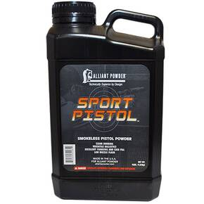 Alliant Powder Sport Pistol Handgun Powder - 4 lbs